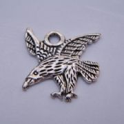 Eagle Personalised Wine Glass Charm